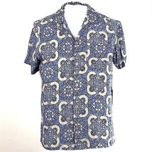 Caribbean Joe Short Sleeve Shirt NWT | Large